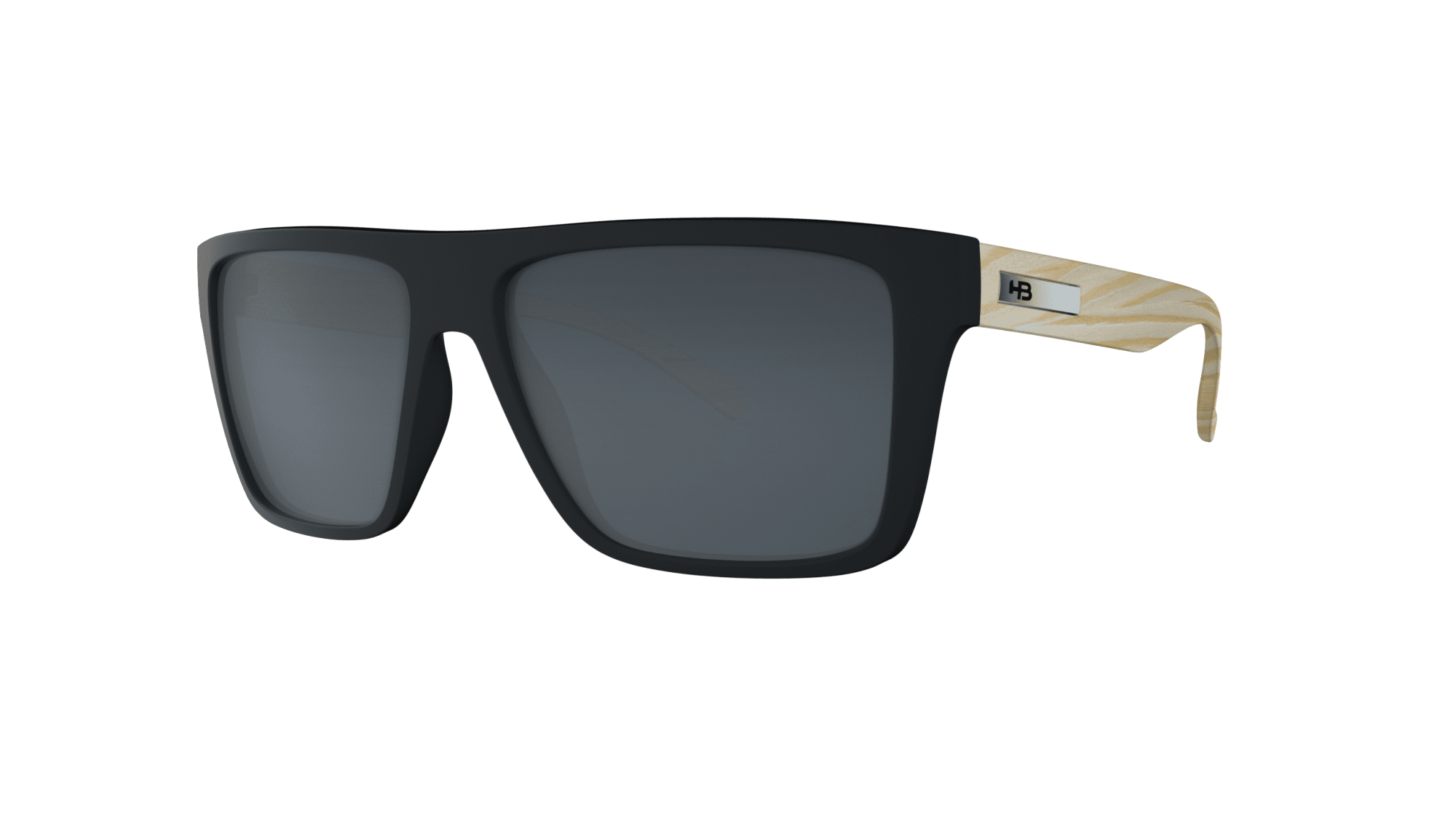 Óculos Floyd HB Black Wood Gray