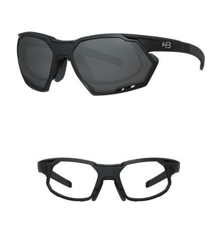 Óculos HB Rush Matte Black Gray