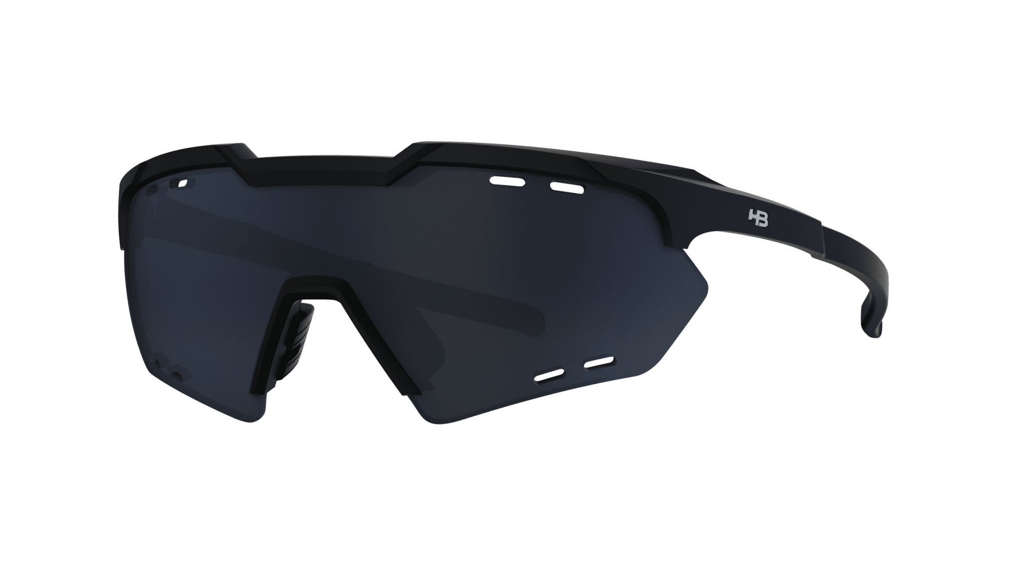 Óculos HB Shield Compact Small Moutain Matte Black Gray