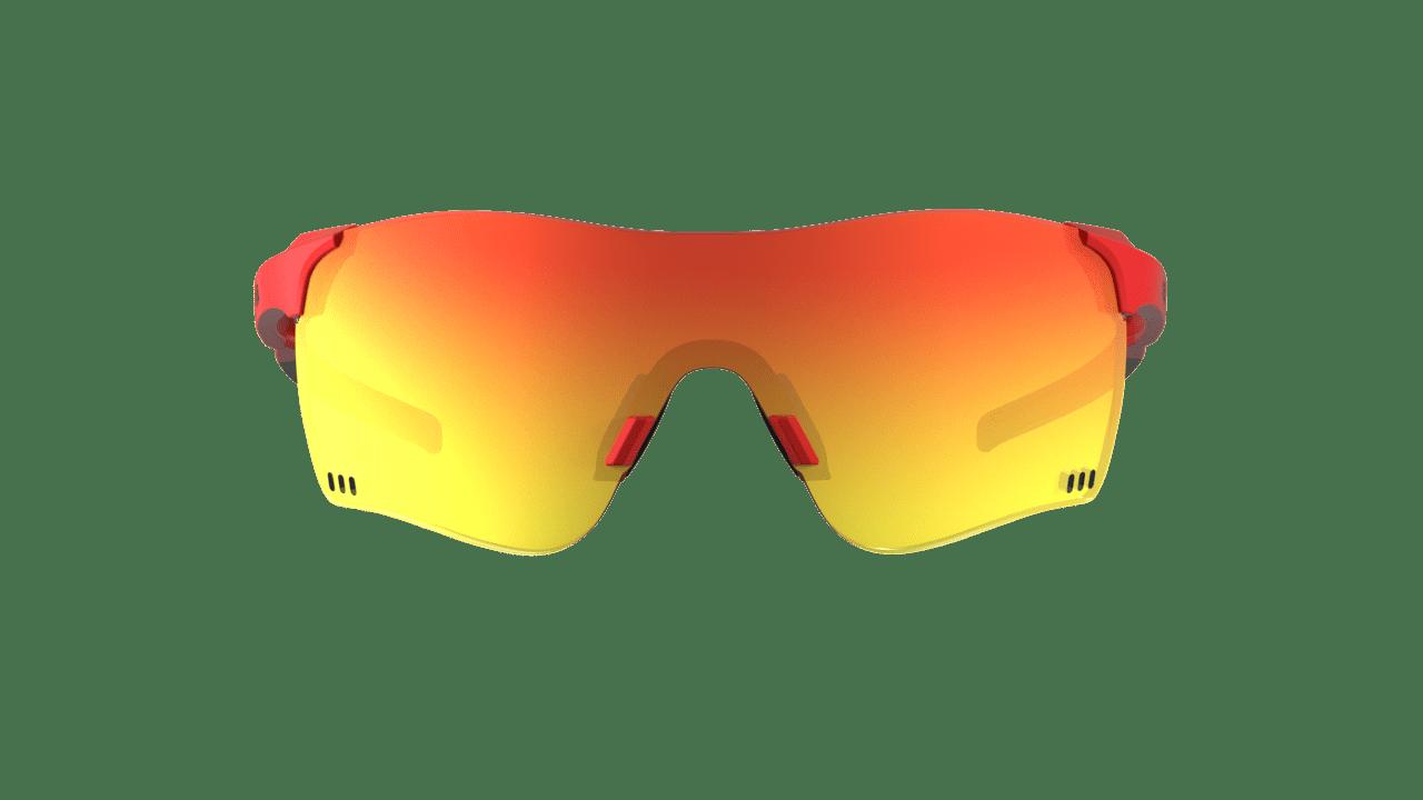 Óculos Quad F HB Fire Red Chrome