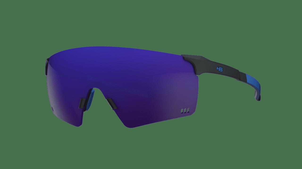Óculos Quad R HB Matte Black Blue Chrome