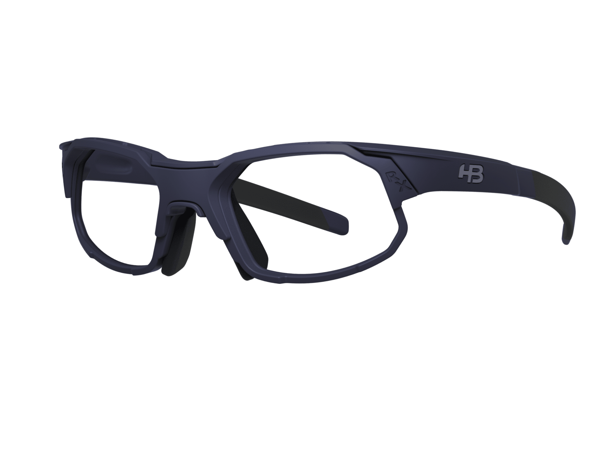 Óculos Rush HB Matte Navy Multi Red