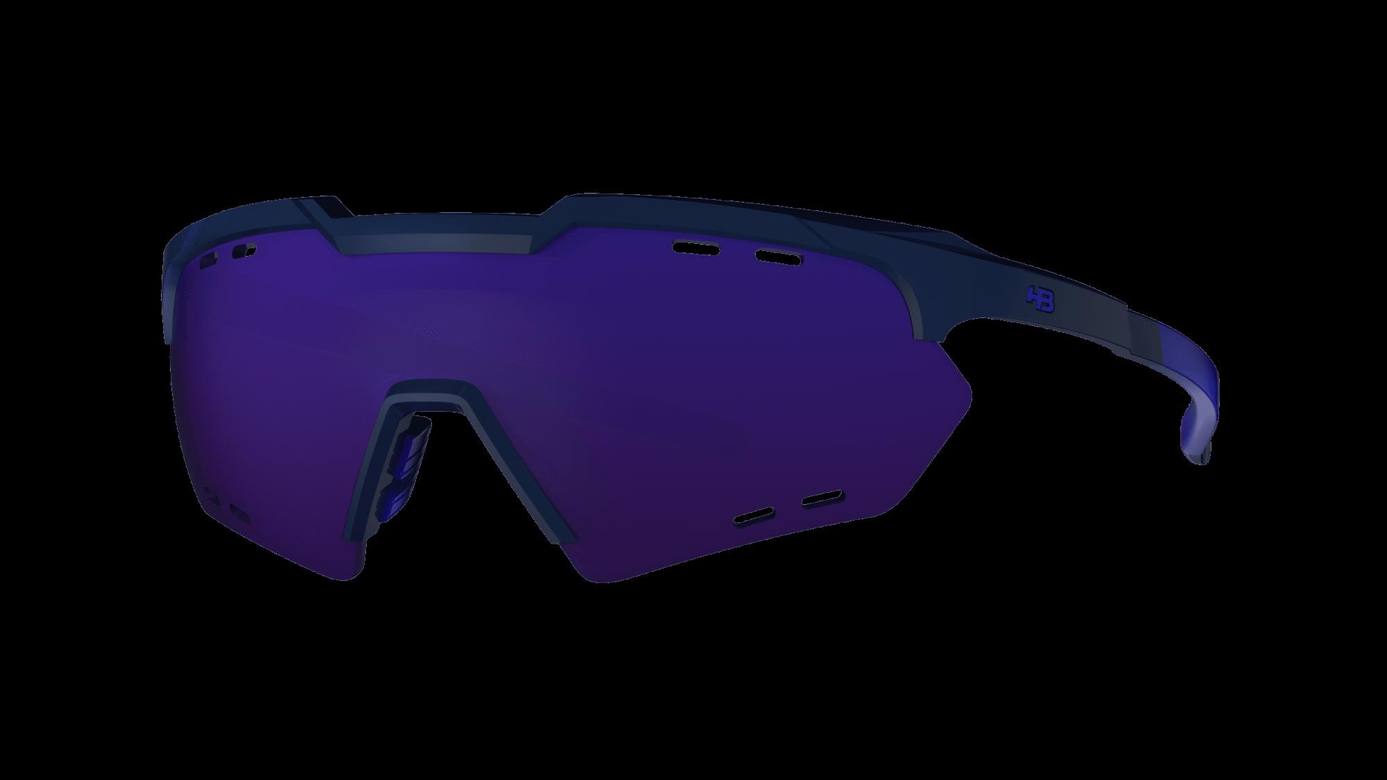 Óculos Shield Compact Small Mountain HB M Black D Blue Multi Purple