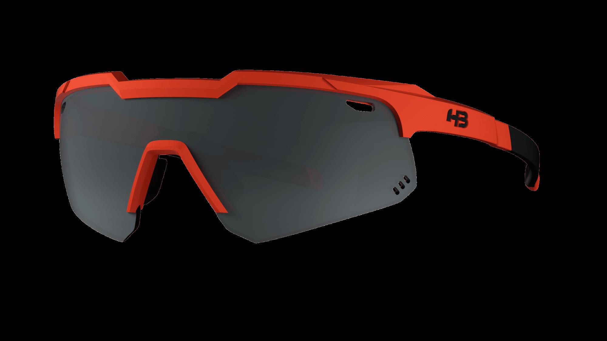 Óculos Shield Compact Small Mountain HB Matte Orange Silver