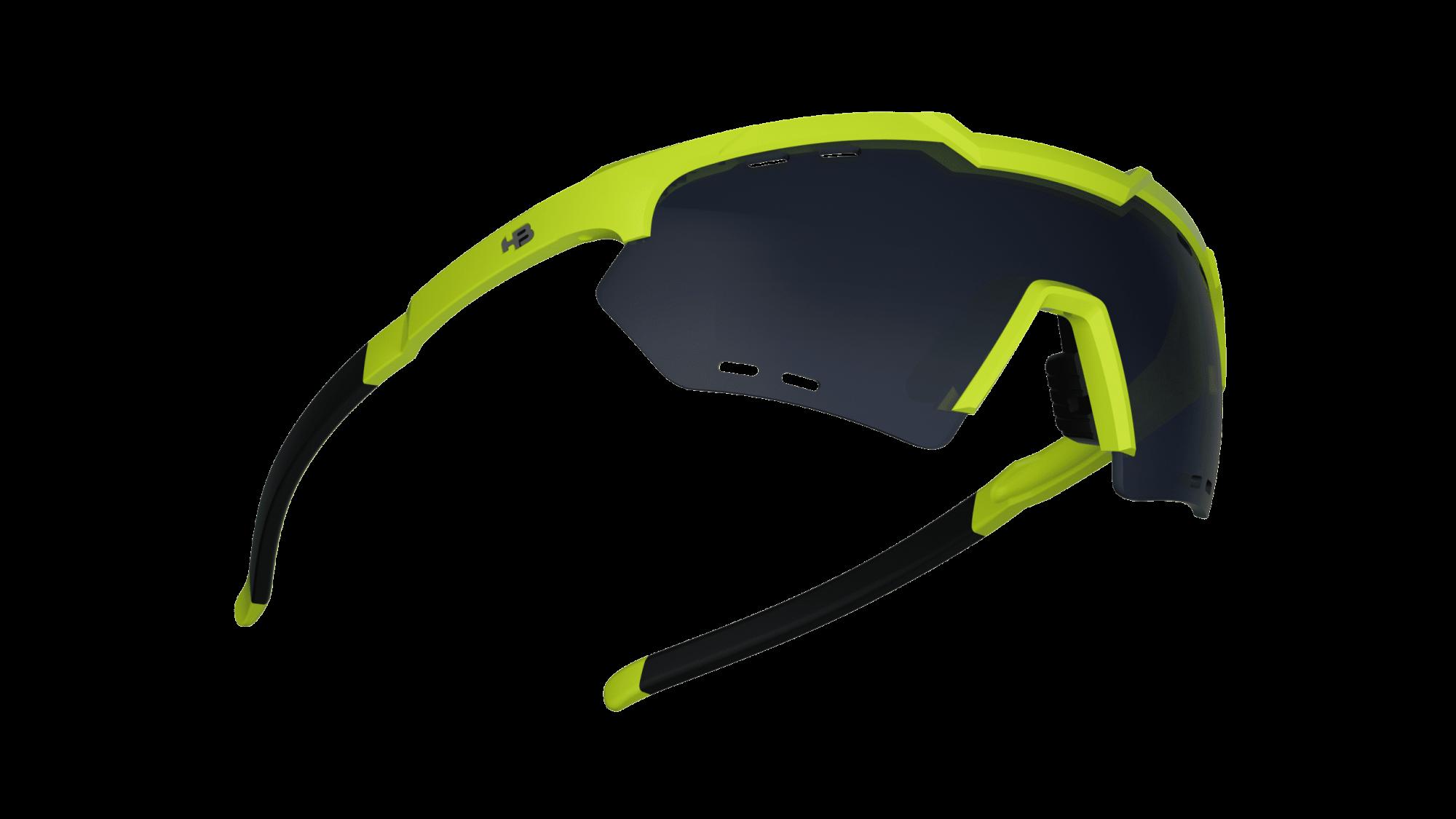 Óculos Shield Compact Small Mountain HB Neon Yellow Gray