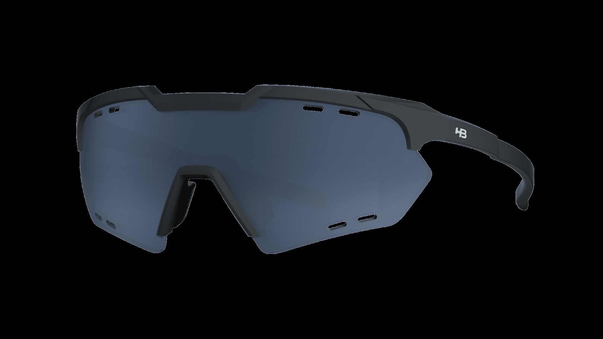 Óculos Shield Compact Small Road Matte Black Gray
