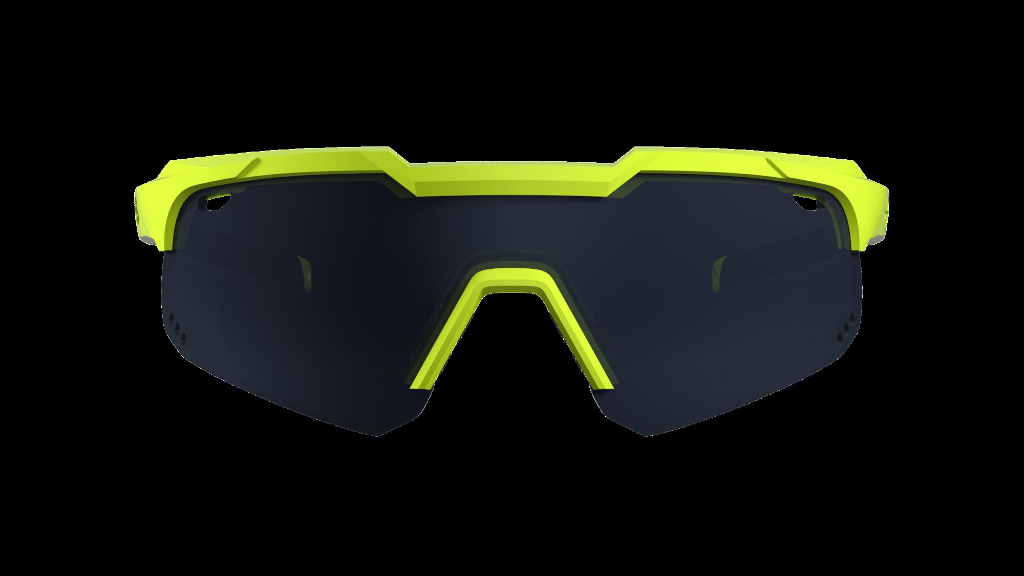Óculos Shield Evo Mountain HB Neon Yellow Gray