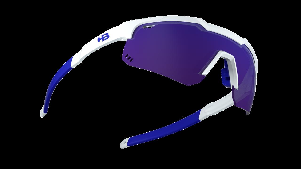 Óculos Shield EVO Mountain Pearled White Multi Purple