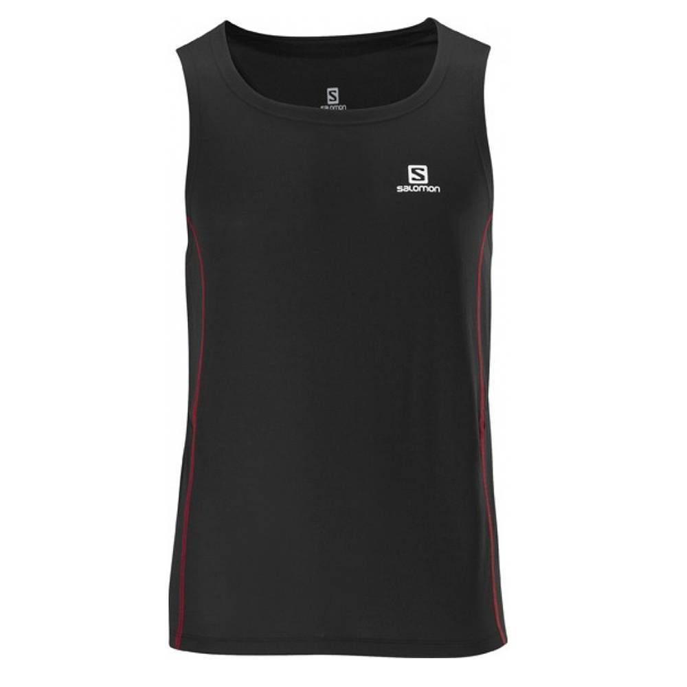 Camiseta Trail Running Regata Trail Feminina Salomon