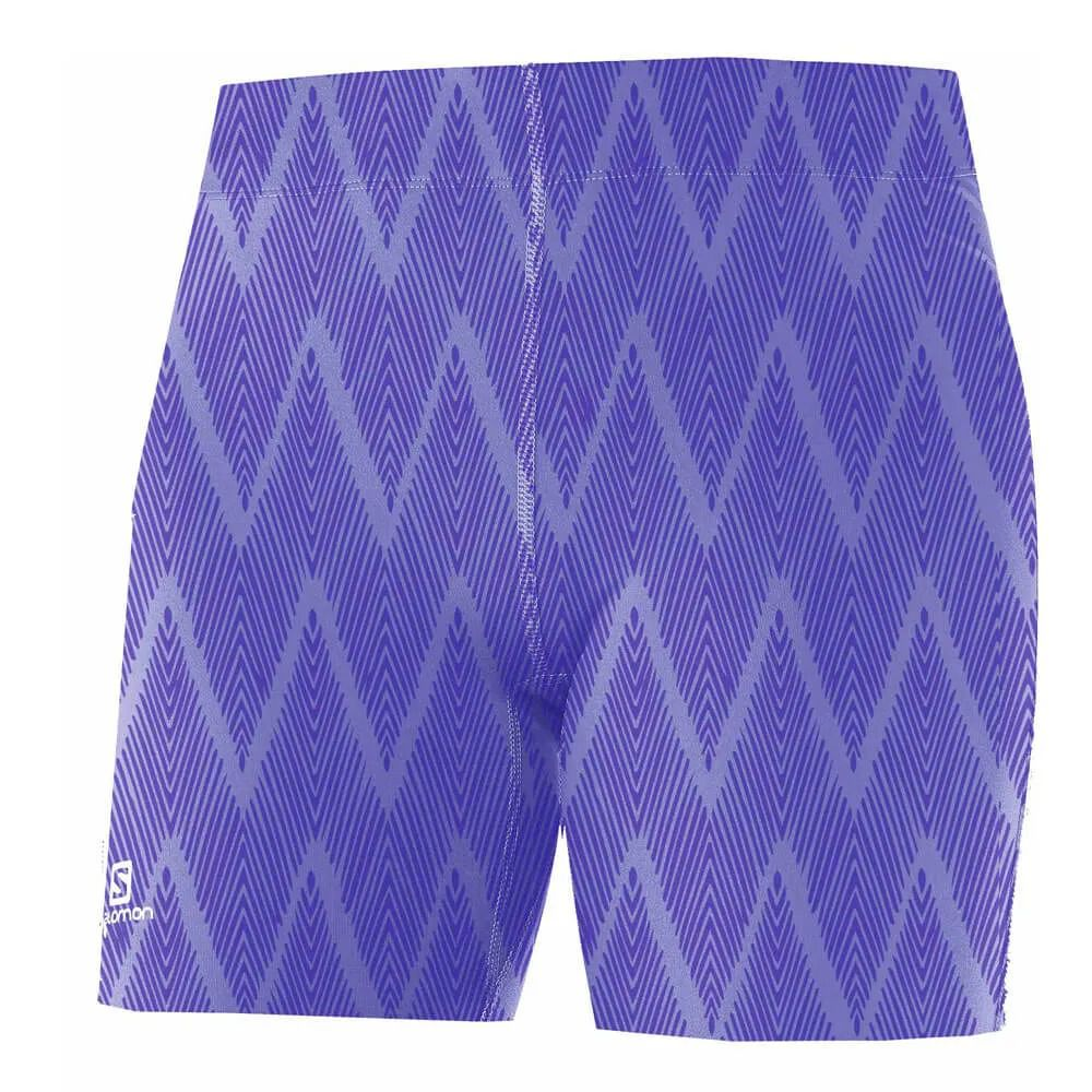 Short Bermuda Graphic Tight Print Feminino Salomon
