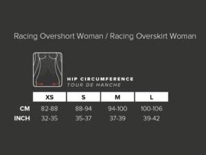 Short Sobreposição Feminino Para Corrida Run Overshort Compressport