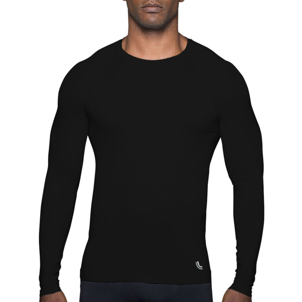 Camiseta/ Blusa Running Manga Longa T Shirt Térmica Run Masculino Lupo