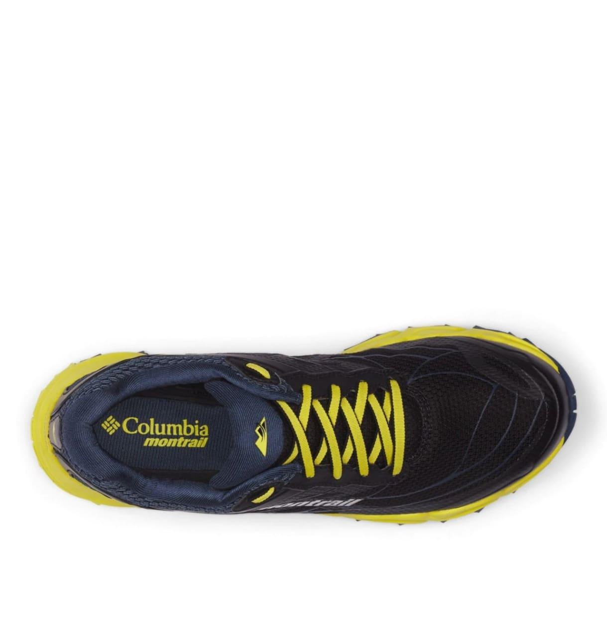 Tênis Caldorado III Masculino Columbia Black Acid Yellow