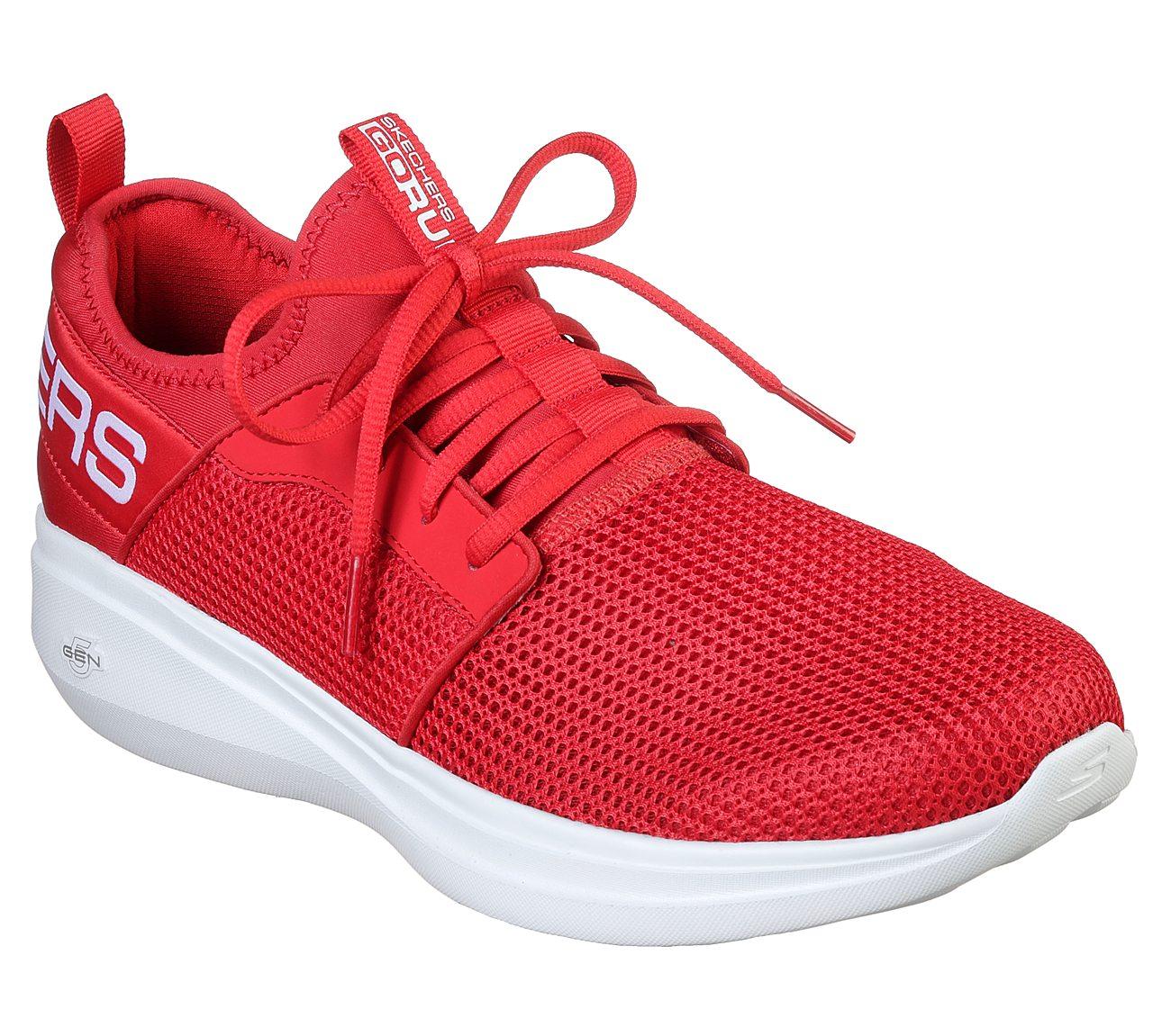 Tênis Go Run Fast - Valor Masculino Skechers Vermelho