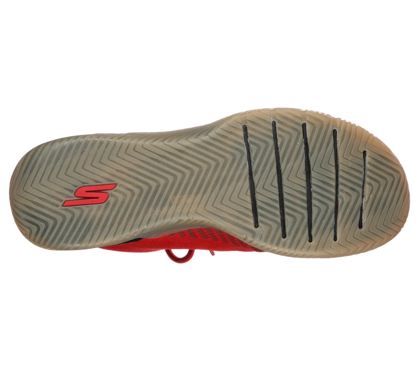 Tênis Go Train-Viper Masculino Skechers Preto e Vermelho