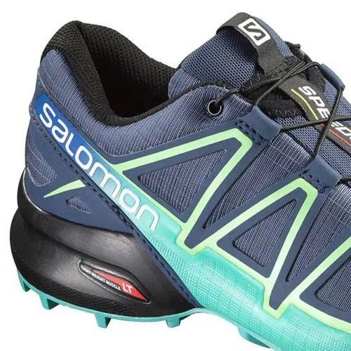 Tênis Speedcross 4 Feminino Salomon Marinho e Verde