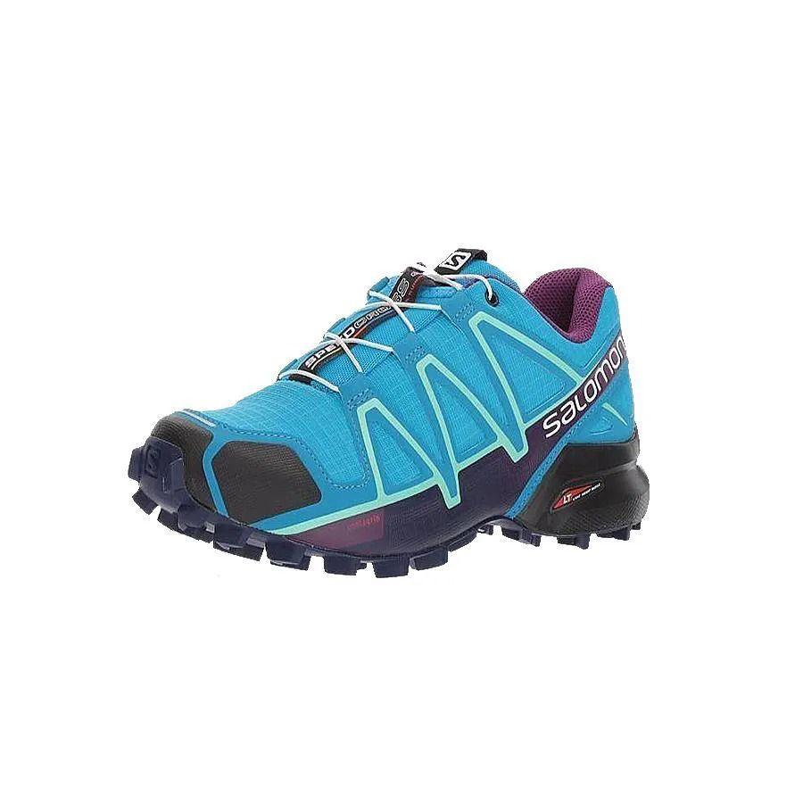 Tênis Speedcross 4 Feminino Salomon Azul e Roxo