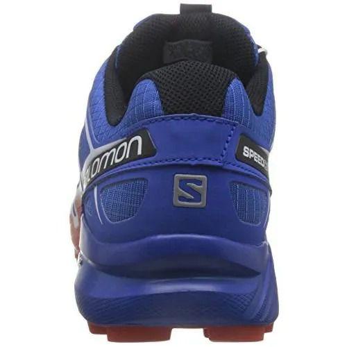 Tênis Speedcross 4 Masculino Salomon Azul e Laranja