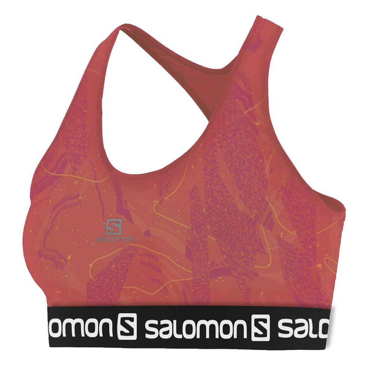Top Impact Graphic Bra II Salomon