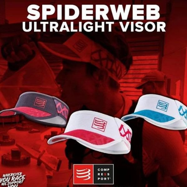 Viseira Ultralight Spiderweb Compressport