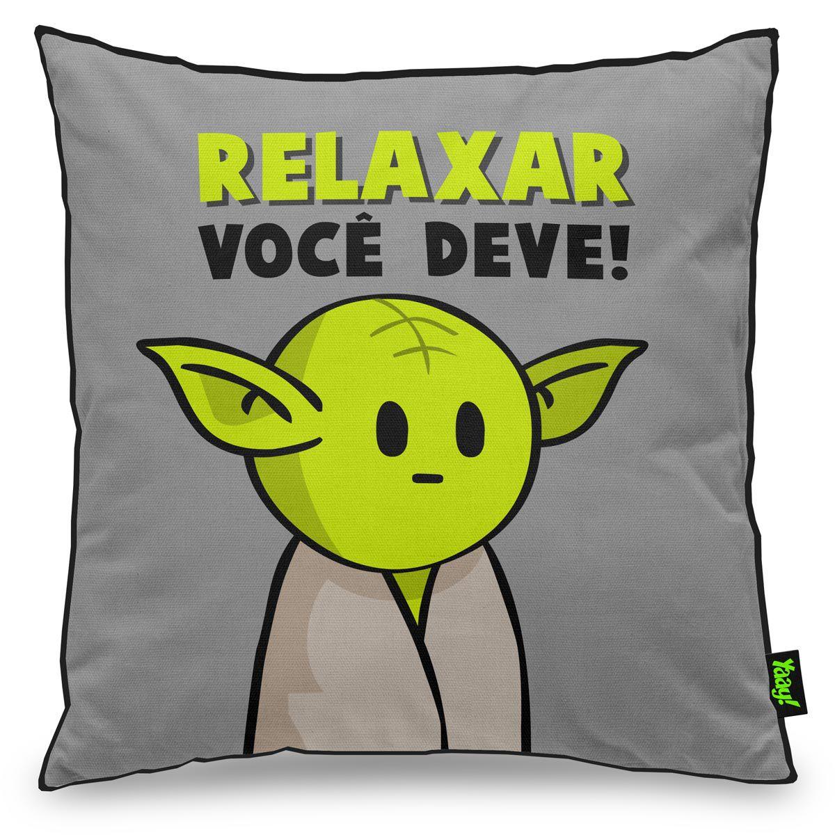 8a312b9a8 Almofada Star Wars - Mestre Yoda
