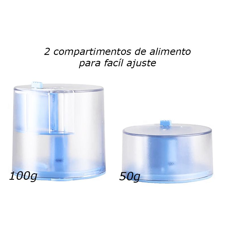 Alimentador Automático Sunsun AK Series (2 copos 50/100 g)