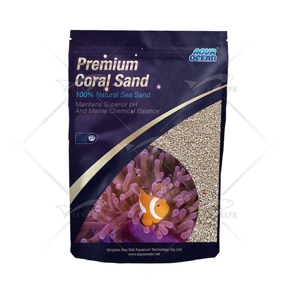 Aqua Ocean Premium Coral Sand 5 Kg | Areia de Aragonita Nº3