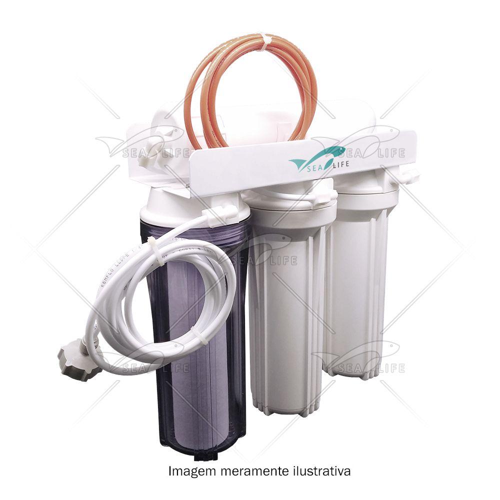 Filtro Desmineralizador de Água 3 Fases BR - Montado