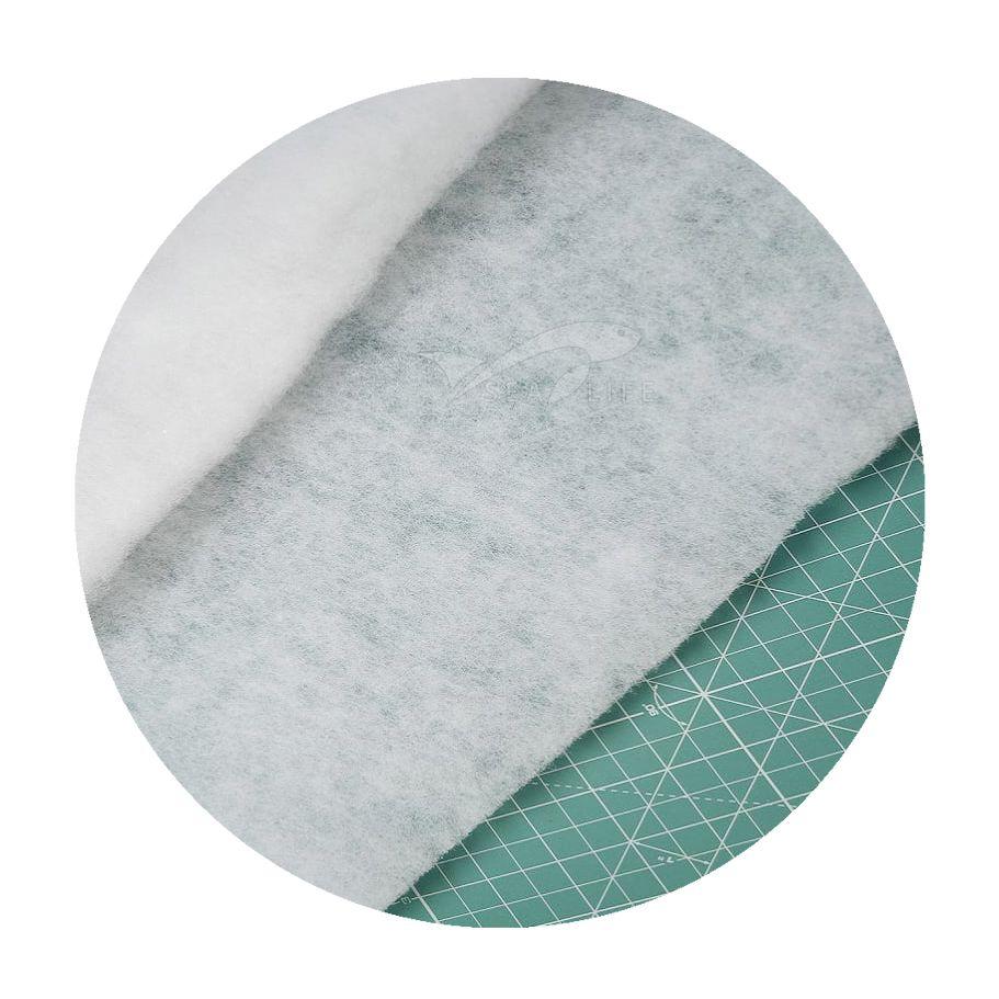 Lã Tipo Perlon para Filtragem pct c/ 1 pç 60 x 70 cm - (2 cm esp. = 150 g/m²)
