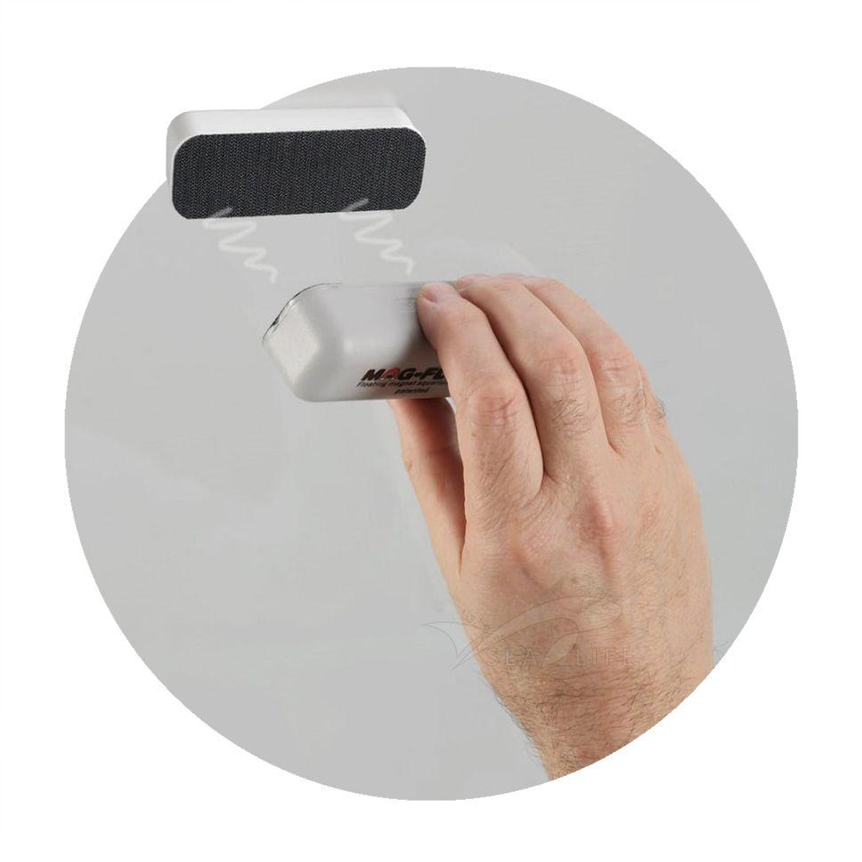 Limpador Magnético Mag-Float Large Glass Vidro 16 mm