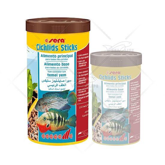Ração Sera Cichlid Sticks 210 g