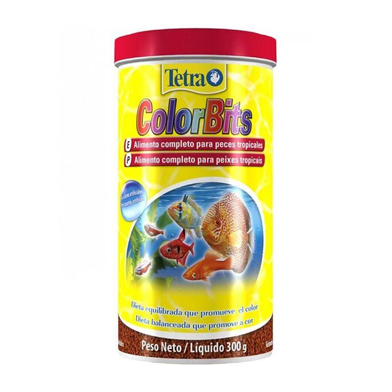 Ração Tetra Colorbits Granules 300 g
