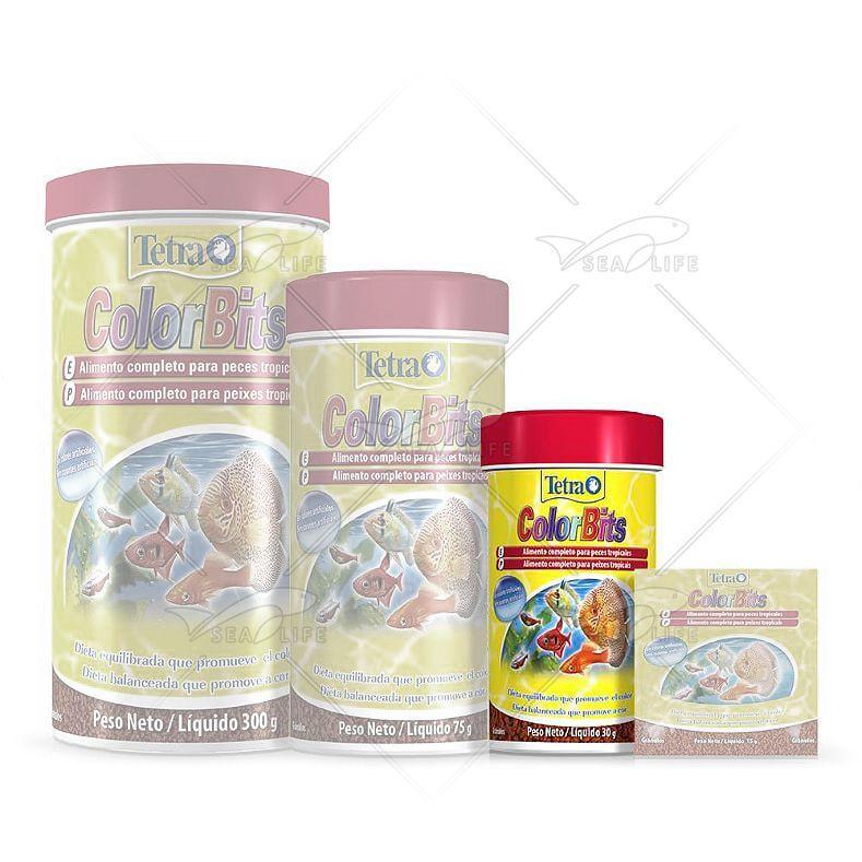Ração Tetra Colorbits Granules 30 g