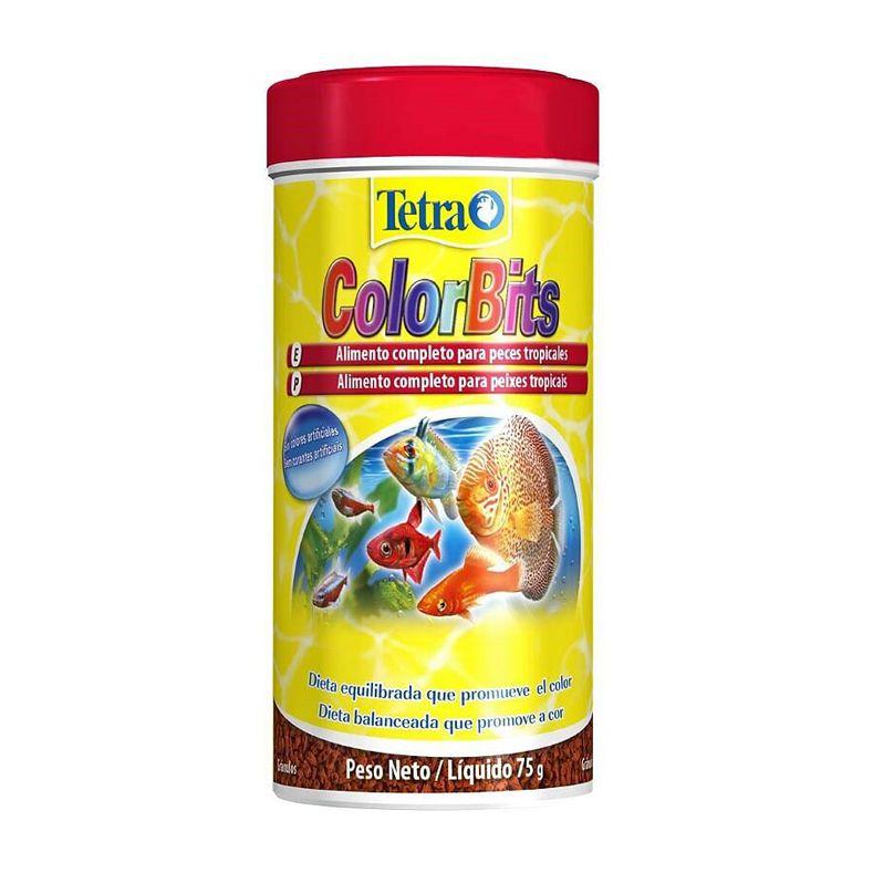 Ração Tetra Colorbits Granules 75 g