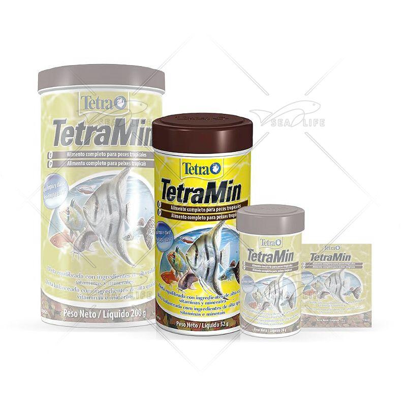 Ração Tetra Min Flakes 52 g
