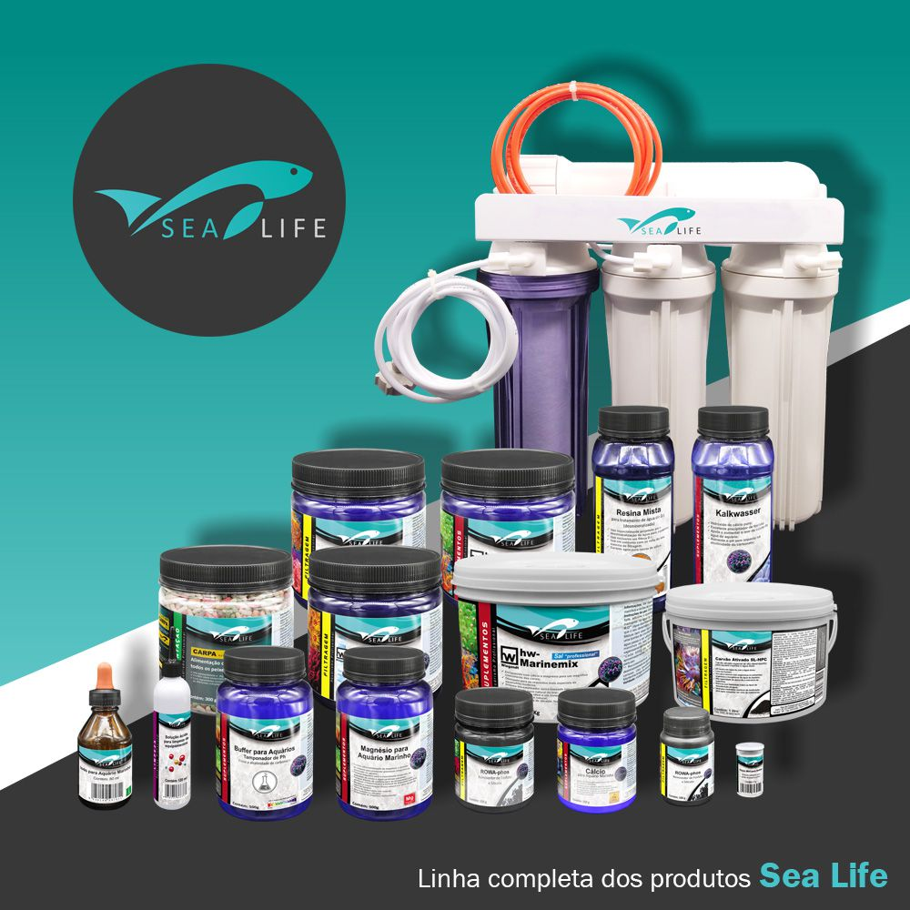 Solução Ácida para Limpeza de Equipamentos | Sea Life - 120 ml
