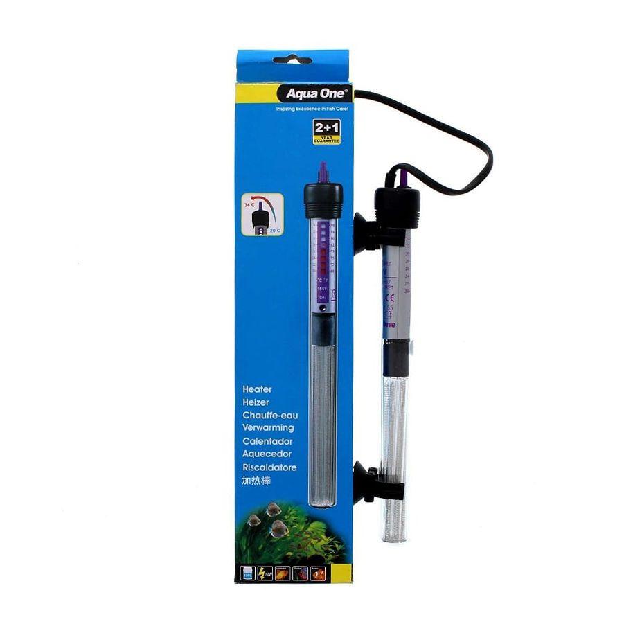 Termostato Glass Heater Aqua One 55w - 110v