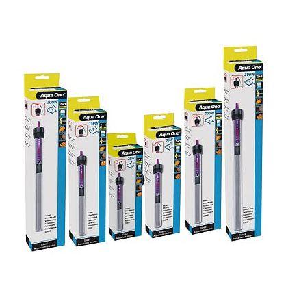 Termostato Glass Heater Aqua One 200w - 110v