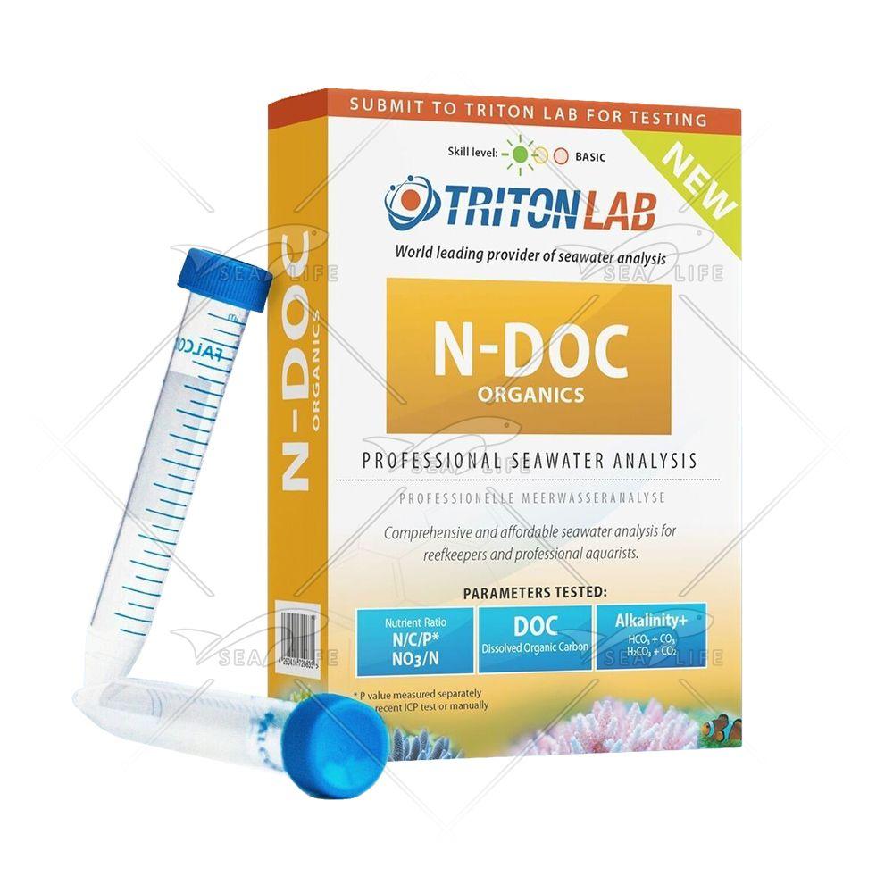 Triton Reagents N-Doc - Testes de Análise de Carbono e Nitrogênio Dissolvido