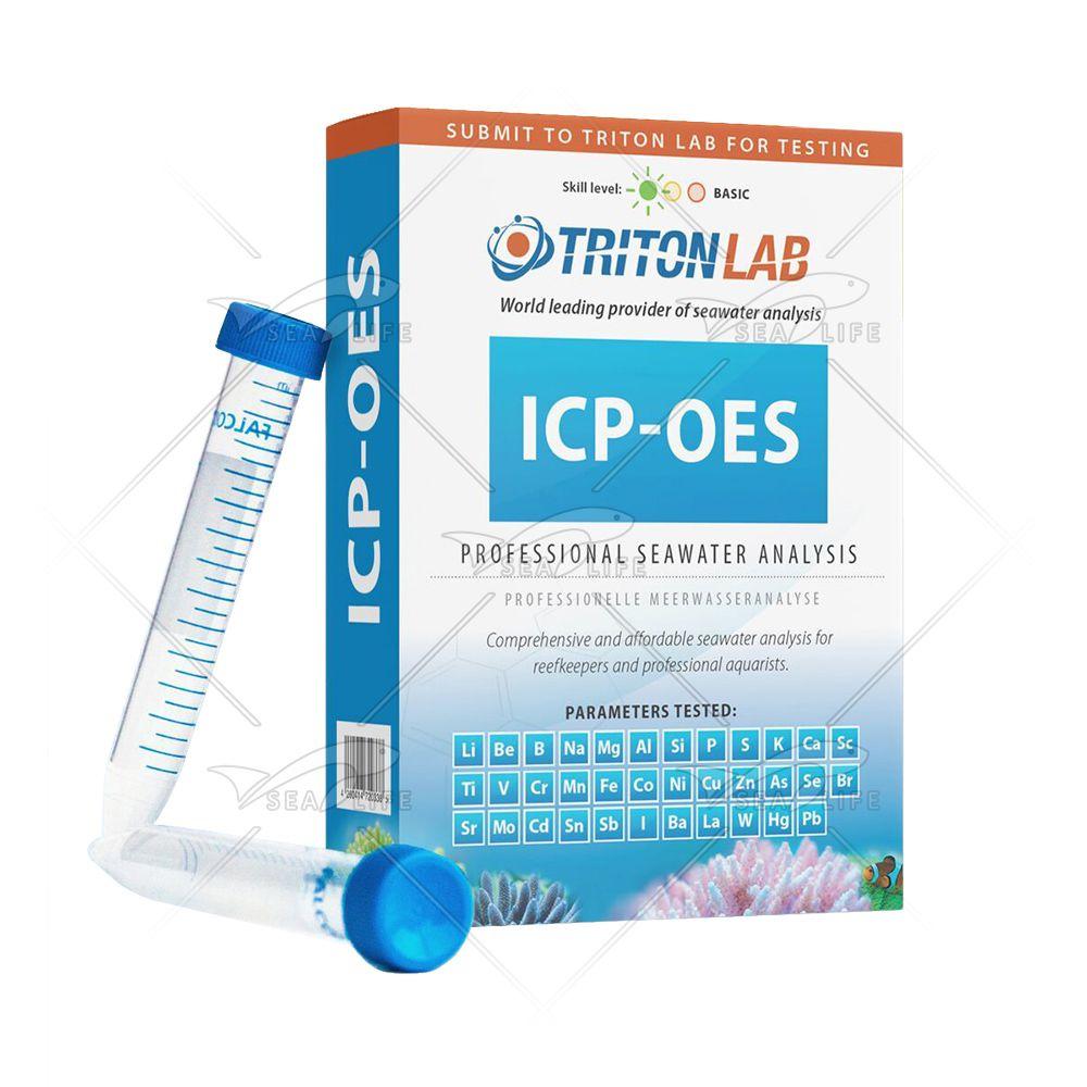 Triton Reagents Lab ICP-OES 35 Testes de Análise de 35 Parâmetros