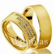 Aliança casamento WM2987