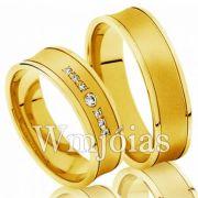 Aliança casamento WM3004