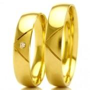 Aliança de casamento e noivado WM2005