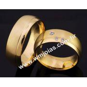 Aliança de casamento WM2075