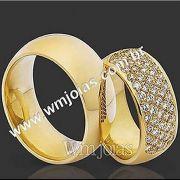 Aliança de casamento WM2087