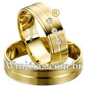 Alianca de casamento WM2543