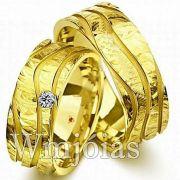 Aliança de casamento WM2913