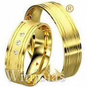Aliança de casamento WM2916