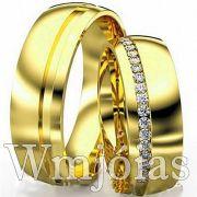 Aliança de casamento WM2919