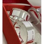 Aliança de namoro e anel solitario - WM10124